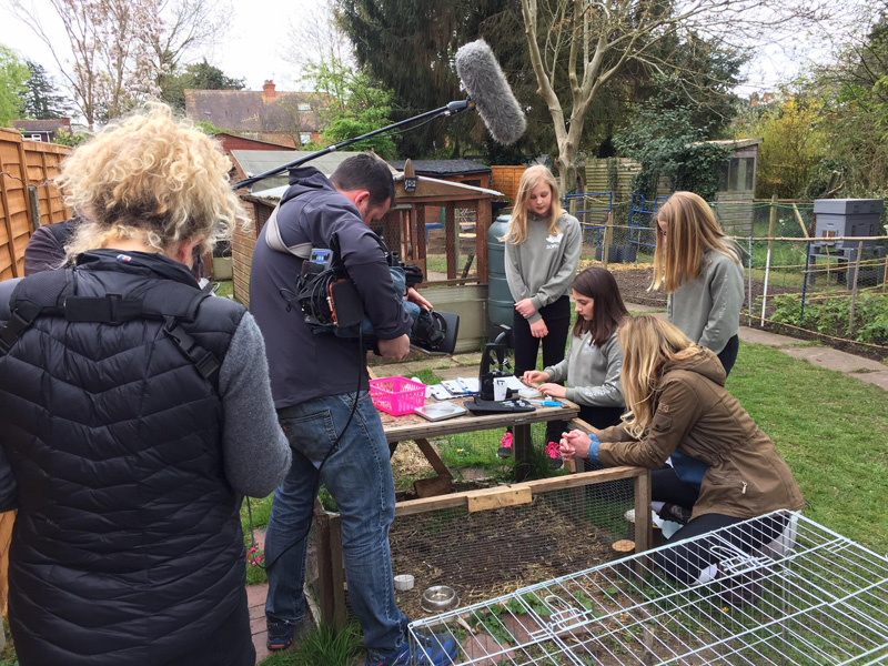 Countryfile filming
