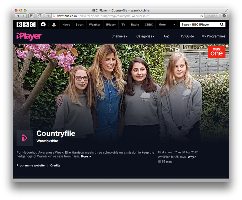 Countryfile iPlayer